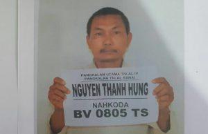 Nguyen Thanh Hung (Nahkoda KIA BV 0805 TS) 40 Tahun, WN Vietnam