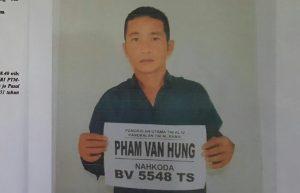 Pham Van Hung (Nahkoda KIA BV 5548 TS) Umur 36, WN Vietnam