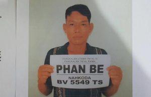 Phan BE (Nahkoda KIA BV 5549 TS) Umur 40, WN Vietnam