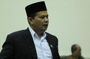 Ketua Badan Pemenangan Pemilu PDI Perjuangan Tanjungpinang, Syahrial. (Foto: Aji Anugraha/pijarkepri.com)
