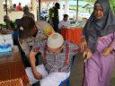 Polres Tanjungpinang Berikan Layanan Kesehatan Gratis Untuk Warga Kampung Bugis