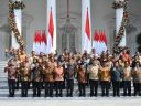 Jokowi Lantik Anggota Kabinet Indonesia Maju