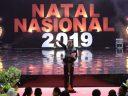 Hadiri Perayaan Natal Nasional 2019, Presiden: Natal Momentum Merajut Kerukunan Bangsa