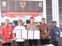 Polres dan Pemkab Lingga MoU Binlat SDM Berprestasi